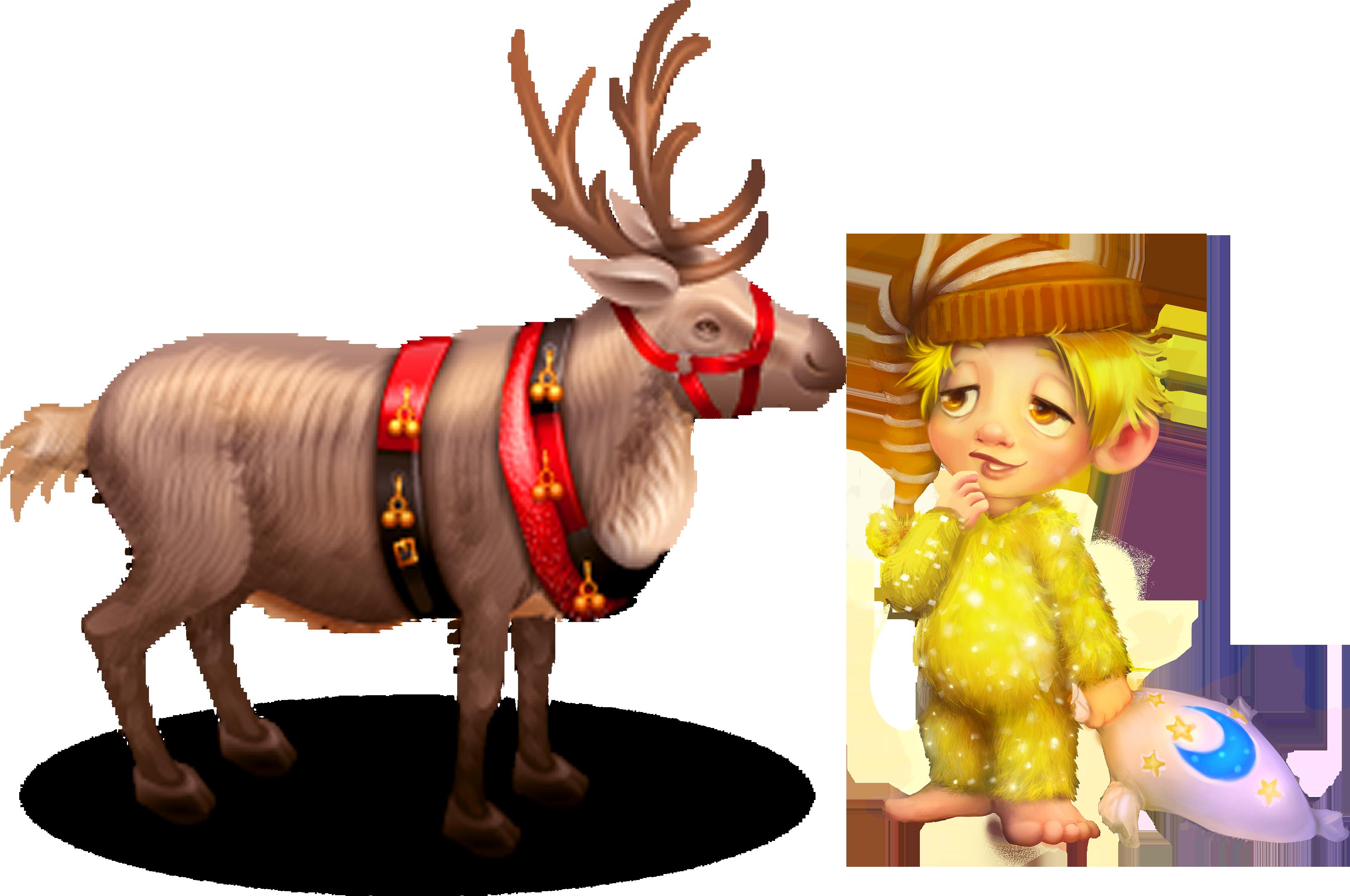 Topaz and Reindeer